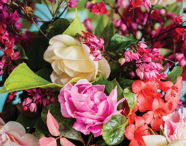 servizio di composizione floreale per eventi vivaio cecchini