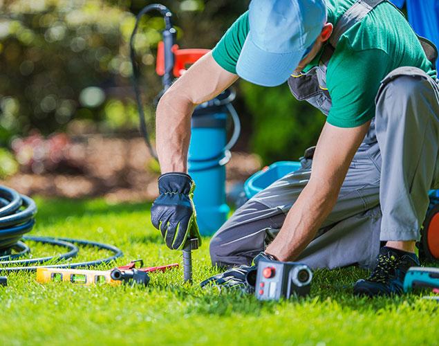 impianti di irrigazione servizio di vivaio cecchini